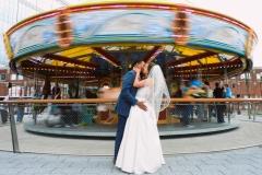 Atlanta Wedding Photographer | LeahAndMark.com | Vintage | Rustic | Modern | King Plow Arts Center