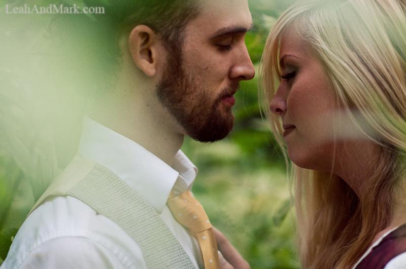 LeahAndMark.com | Offbeat Bride | Atlanta Vintage Wedding Photographers