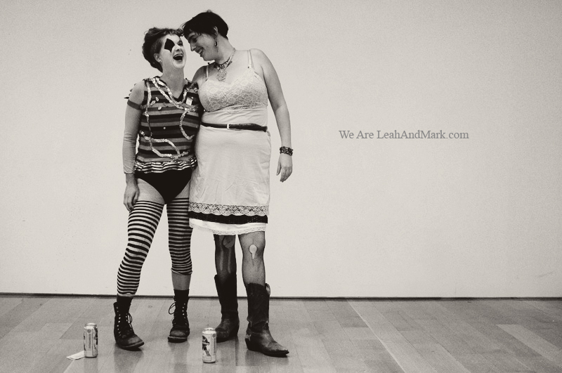 Atlanta Photographers | High Museum Halloween 2011 | LeahAndMark.com