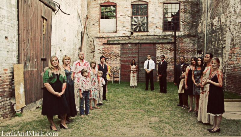 LeahAndMark.com | Atlanta Wedding Photographer | Halloween | Blood