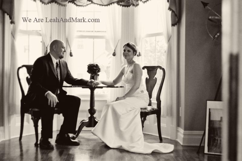 LeahAndMark.com | Atlanta Photographers | Black & White | Ad Campaign