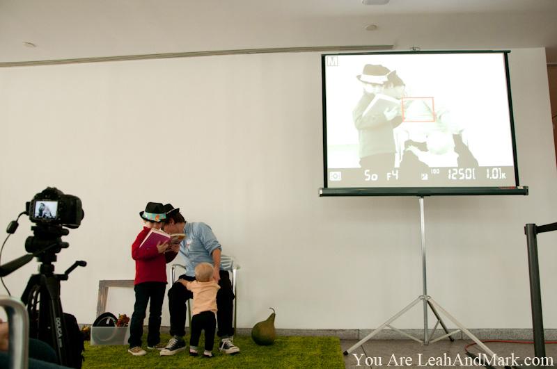 High Museum of Art Atlanta   Family Day   Thanksgiving   Warhol Screen Tests Video   LeahAndMark.com