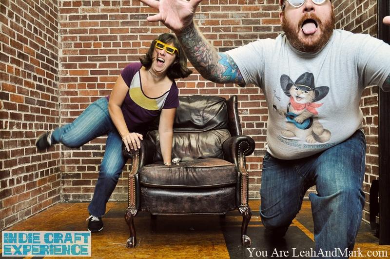Indie Craft Experience 2011 | Photobooth | Atlanta Photographers | LeahAndMark.com