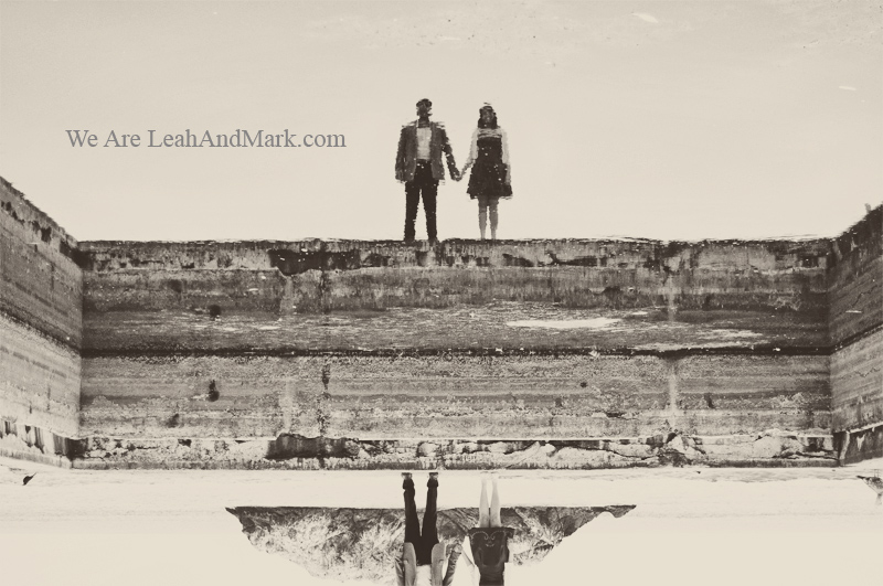 San Francisco Engagement Session | Sutro Baths | Photographer LeahAndMark.com