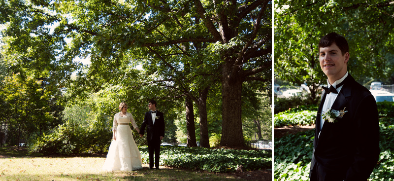 Atlanta Wedding Photographer | LeahAndMark.com | Vintage | Rustic | Modern | Houston Mill House, Decatur
