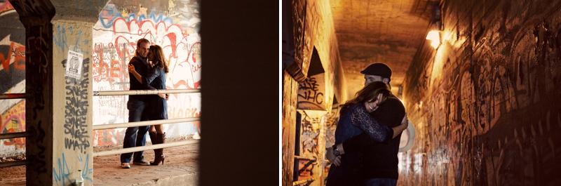 Atlanta Wedding Photographer | Engagement Session | Krog Tunnel | Oakland Cemetary | Vintage | Modern | LeahAndMark.com