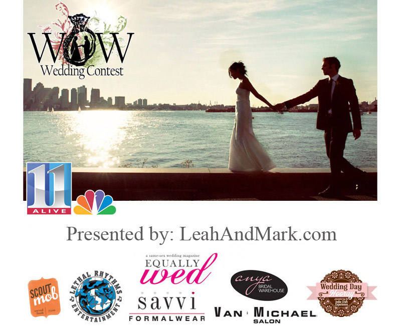 Atlanta Wedding Photographer | Wow Wedding Contest | 11 Alive | LeahAndMark.com
