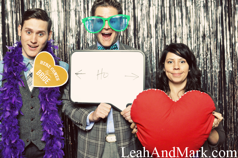Wedding Day Hooray | Photobooth Rentals | LeahAndMark.com