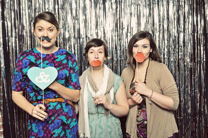 Wedding Day Hooray | Photobooth Rentals | LeahAndMark.com