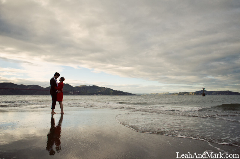 Atlanta Photographer | LeahAndMark.com | Engagement Session | San Francisco, California |
