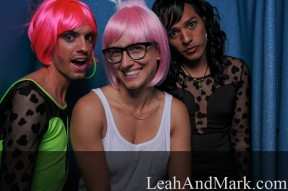 Atlanta Photographer | LeahAndMark.com | Mondo Homo Photobooth