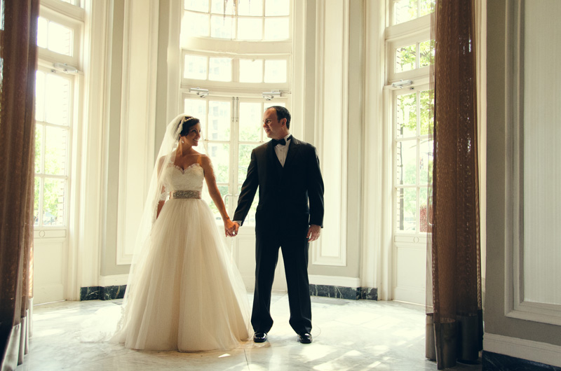 Atlanta Wedding Photographer | LeahAndMark.com | Piedmont Park Tavern | Tent| Wedding Video | Wedding Home  Movies