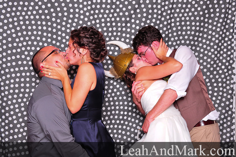 Steph + Ryan | Wedding Photobooth by LeahAndMark