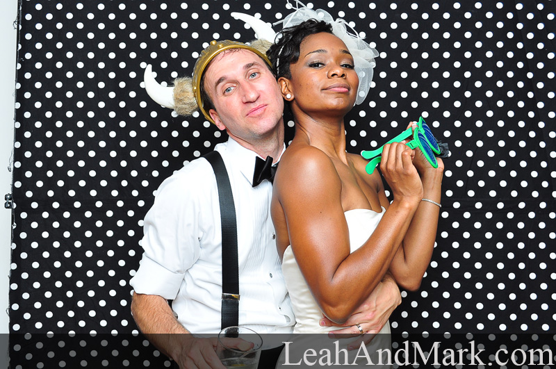 Lauren + Jonathan | Wedding Photobooth by LeahAndMark