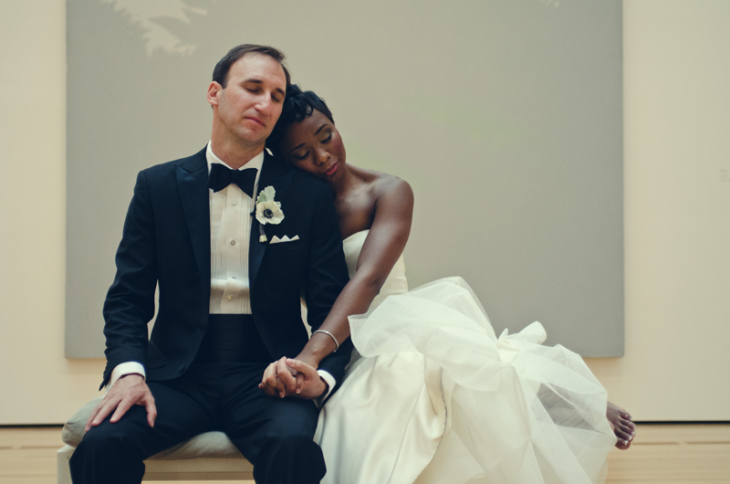 Atlanta Wedding Photographer | LeahAndMark.com | Vintage | Modern | High Museum of Art Atlanta | Atlanta Botanical Gardens | W Hotel Midtown