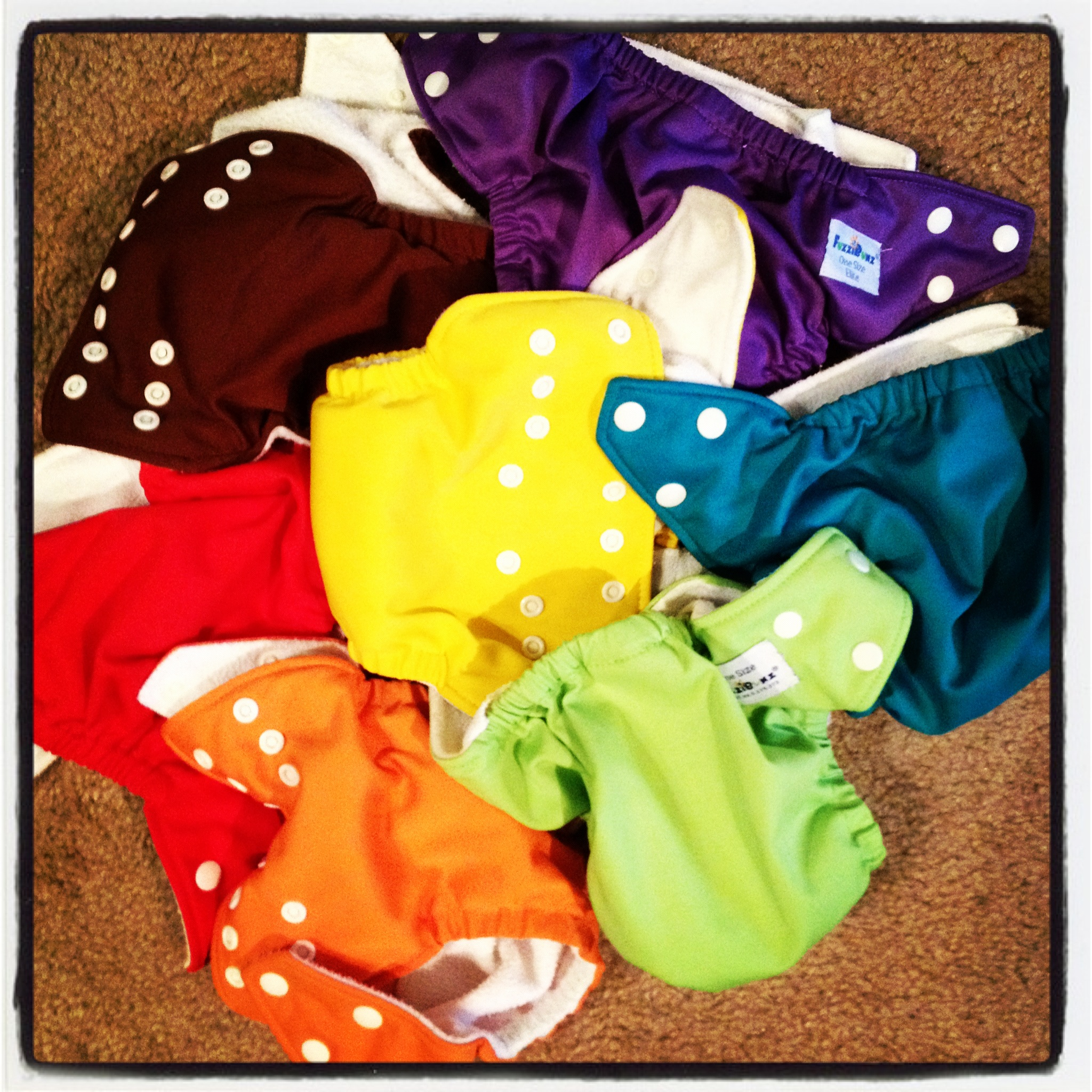 Wednesday by Leah: Cloth Diapering