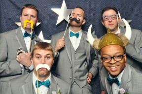 LeahAndMark.com | Atlanta Photobooth Rental | Wedding Photo Booth |