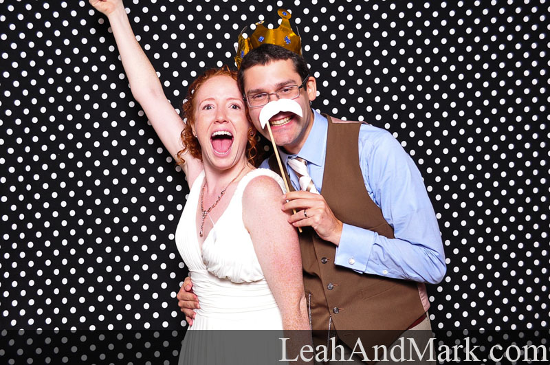 Jessica + Jeff | Wedding Photobooth by LeahAndMark