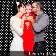 LeahAndMark.com | Atlanta Photobooth Rental | Inman Park Trolley Barn