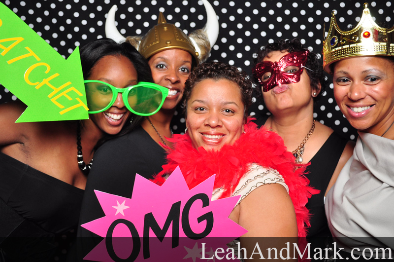 Kaleah + Courtney | Wedding Photobooth