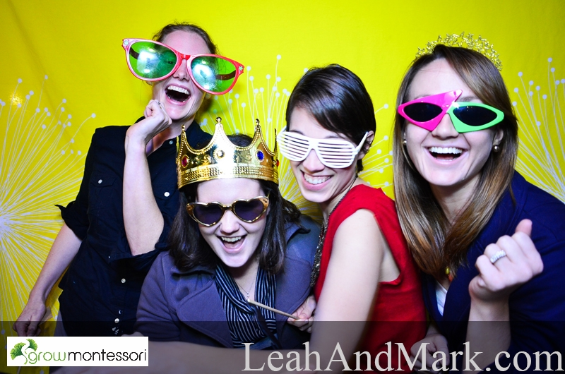 Atlanta Photobooth Rental | LeahAndMark.com | Grow Montessori
