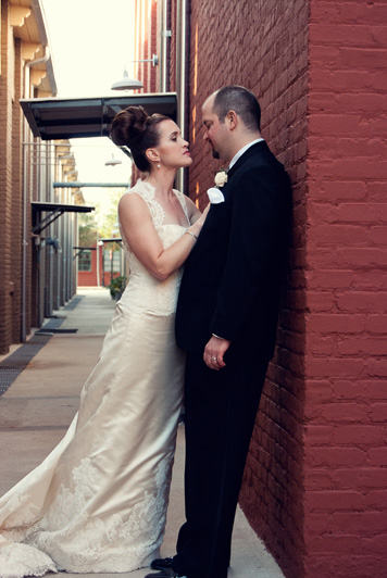 Atlanta Wedding Photographer | LeahAndMark.com | The Foundry at Puritan Mill