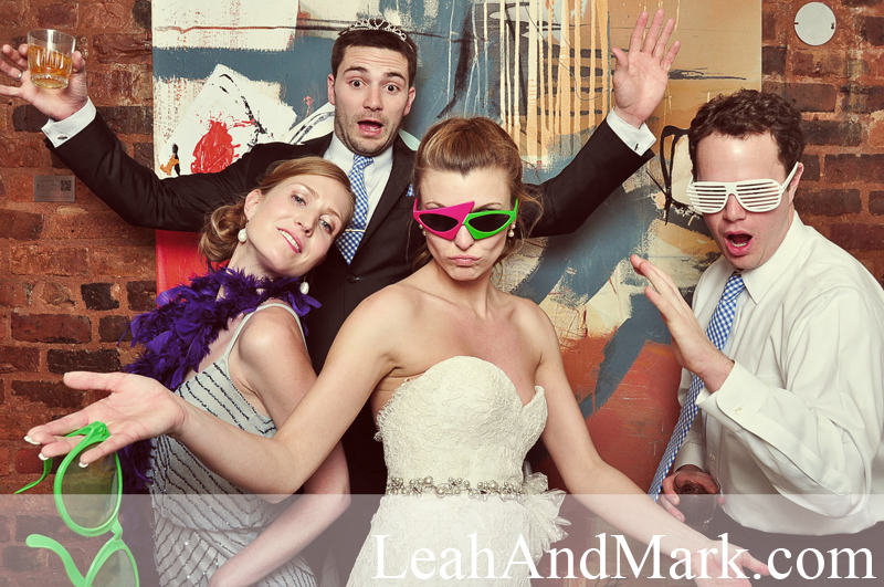 Atlanta Photobooth Rentals | Brittany + Chris | Weddings by LeahAndMark.com