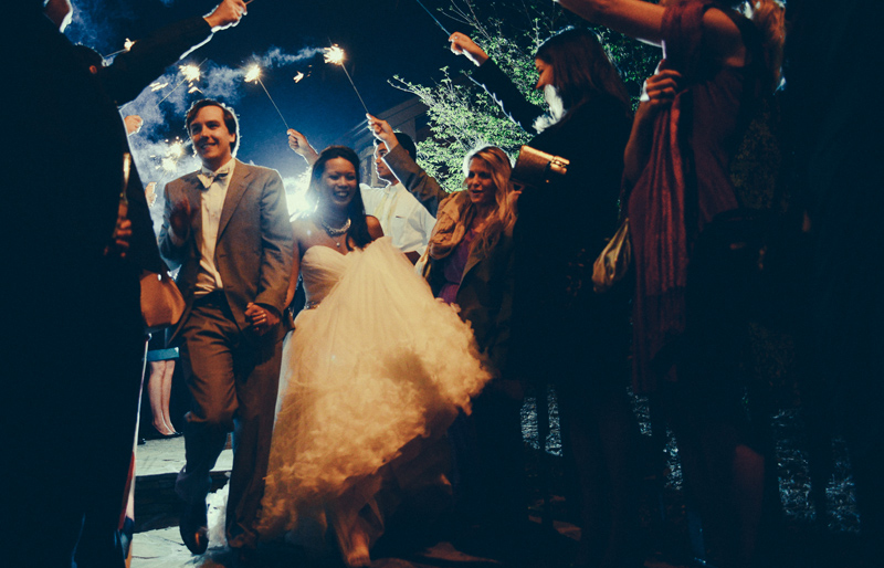 Different Types of Wedding Exits