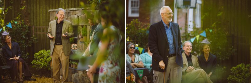 Atlanta Wedding Photographer | LeahAndMark & Co. | Backyard Wedding