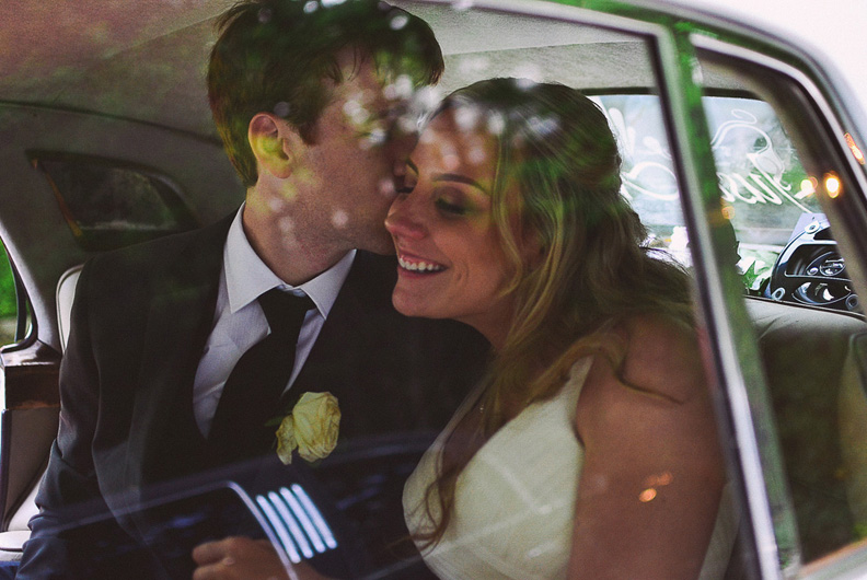 The Classic Getaway Car (Your Wedding Exit)
