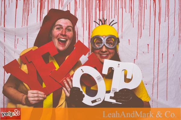 Yelp OTP Photobooth | Halloween 2013