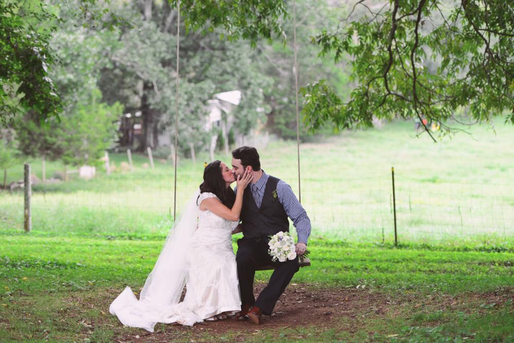 Stephanie + David | The Barn at High Point Farms Wedding