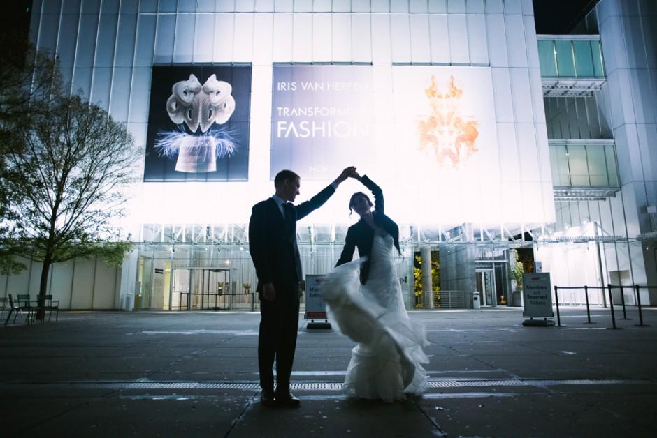 Atlanta Wedding Photographer | MODA | Museum of Design Atlanta | High Museum of Art | LeahAndMark & Co.