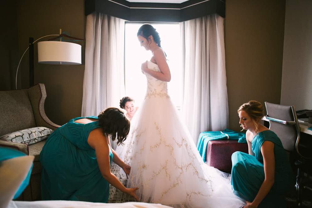 Atlanta Wedding Photographer | Waverly Hotel | Cobb Galleria | LeahAndMark & Co.