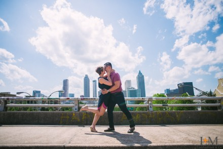 Engagement Photos | Atlanta Wedding Photographer | LeahAndMark & Co. | Ponce City Market | Grant Park | Jackson St. Bridge