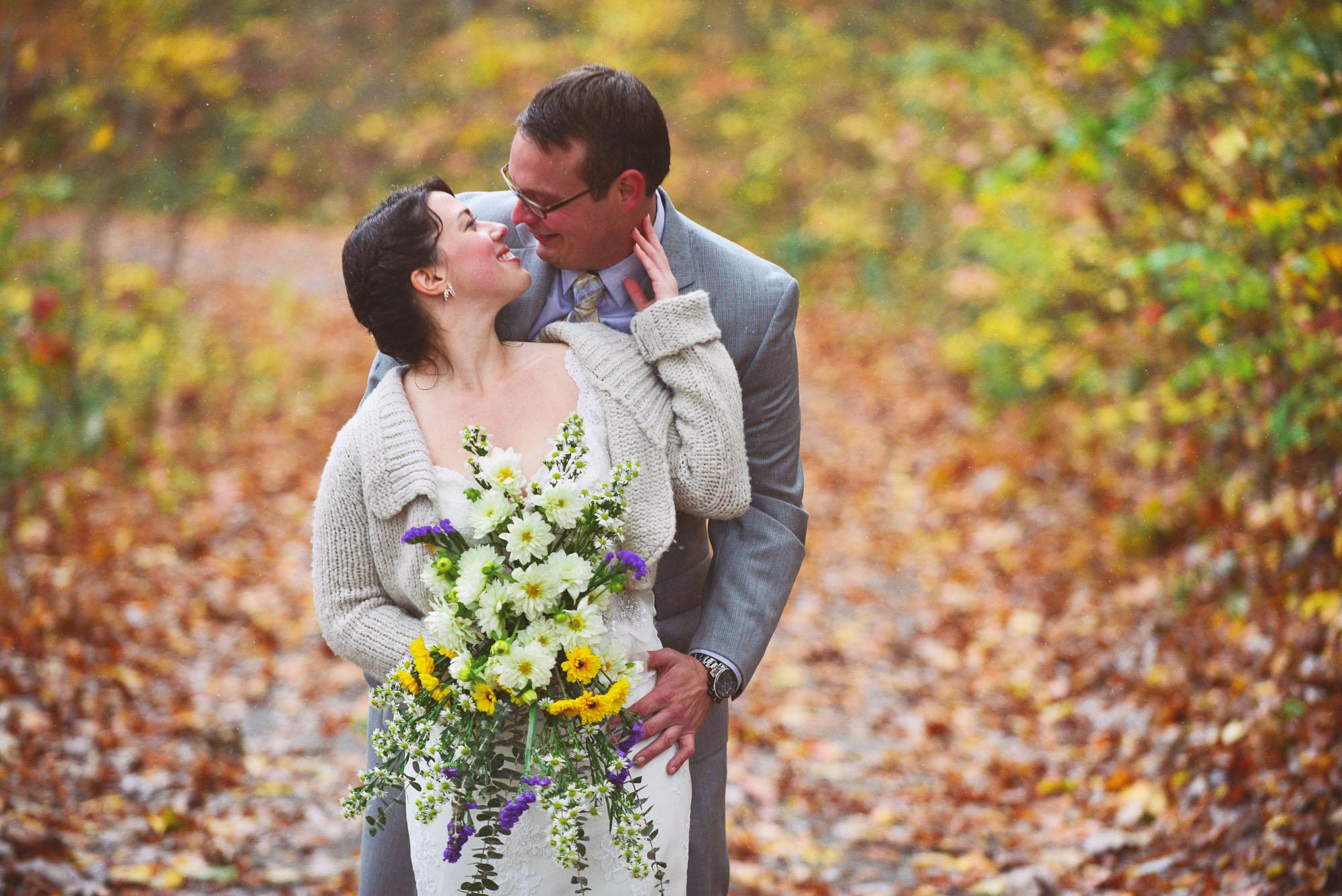Julie + Chris | Sugarboo Farms Wedding (First Look)