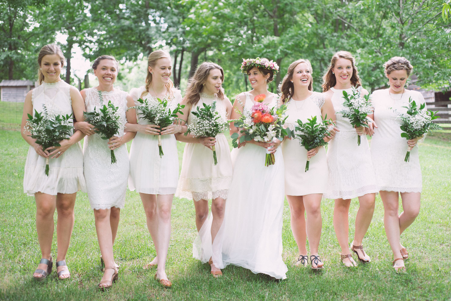 Wedding Ceremony Planning | A bride and her squad