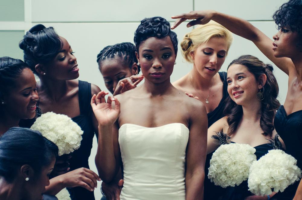 Atlanta Wedding Photographer | LeahAndMark.com | Vintage | Modern | High Museum of Art Atlanta | Atlanta Botanical Gardens | W Hotel Midtown