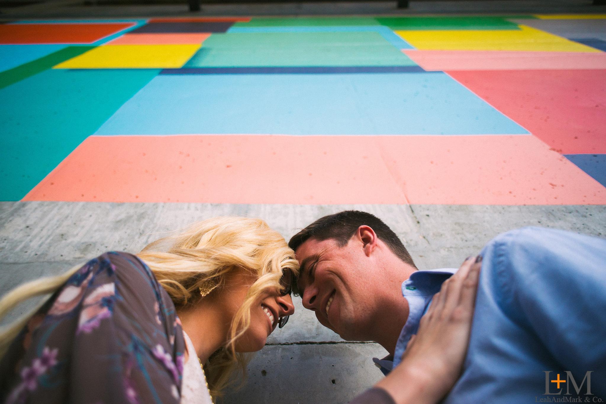 C + J | Ponce City Market Engagement Session | Atlanta Wedding Photographer