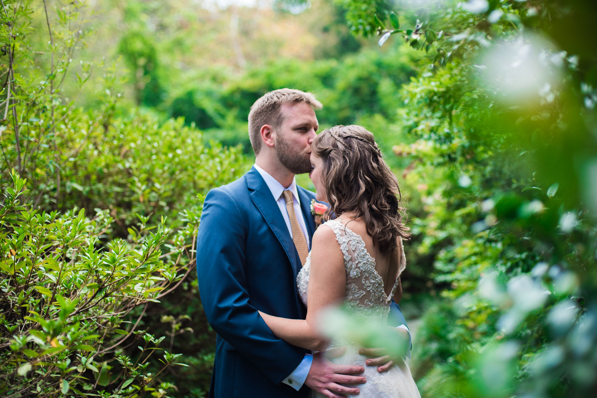 M & J | Cator Woolford Gardens | Atlanta Wedding Photographer