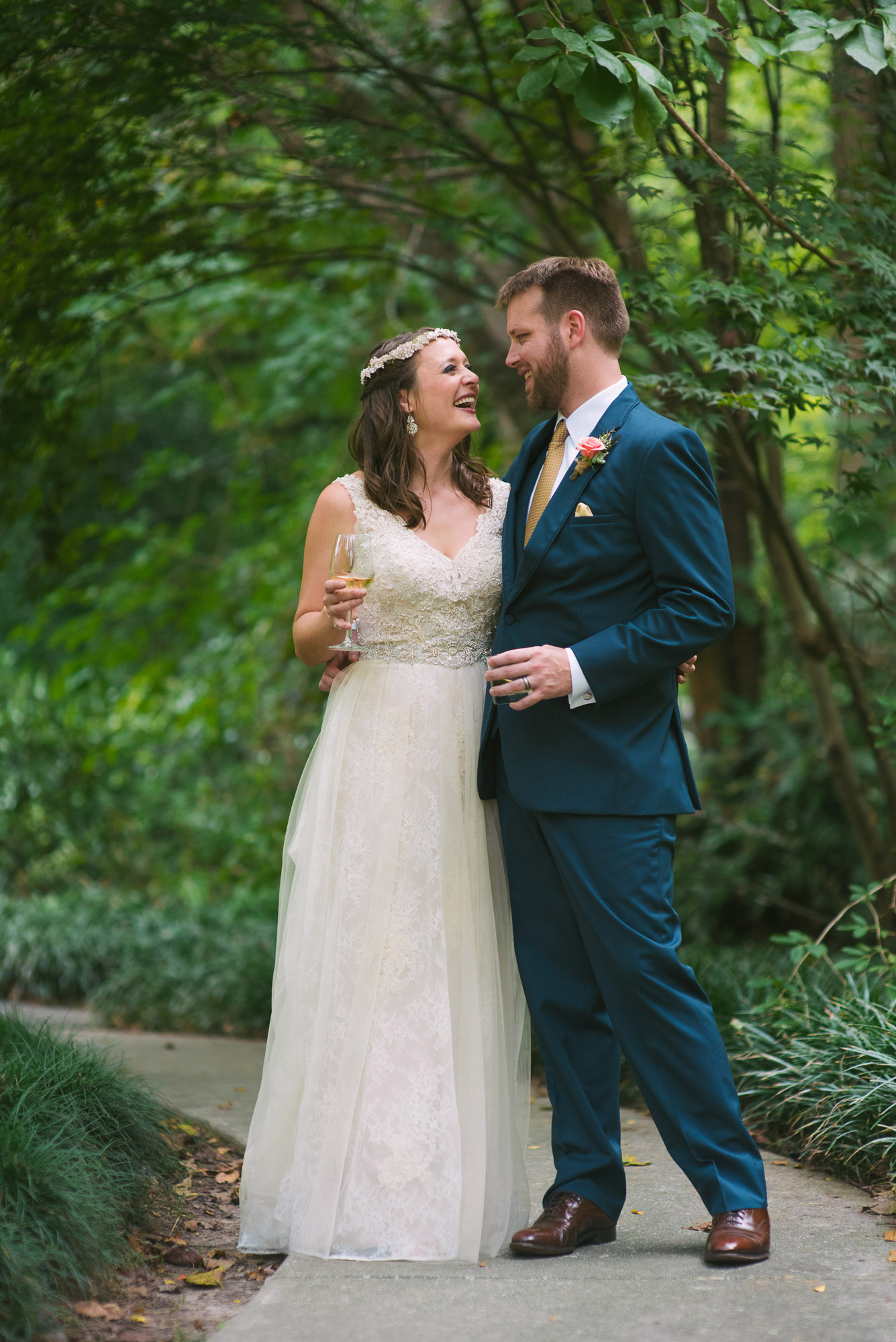 Cator Woolford Gardens Wedding | Photographer; LeahAndMark & Co.; Outdoor; Fall Wedding; Summer Wedding; Green; Nature; Traditional