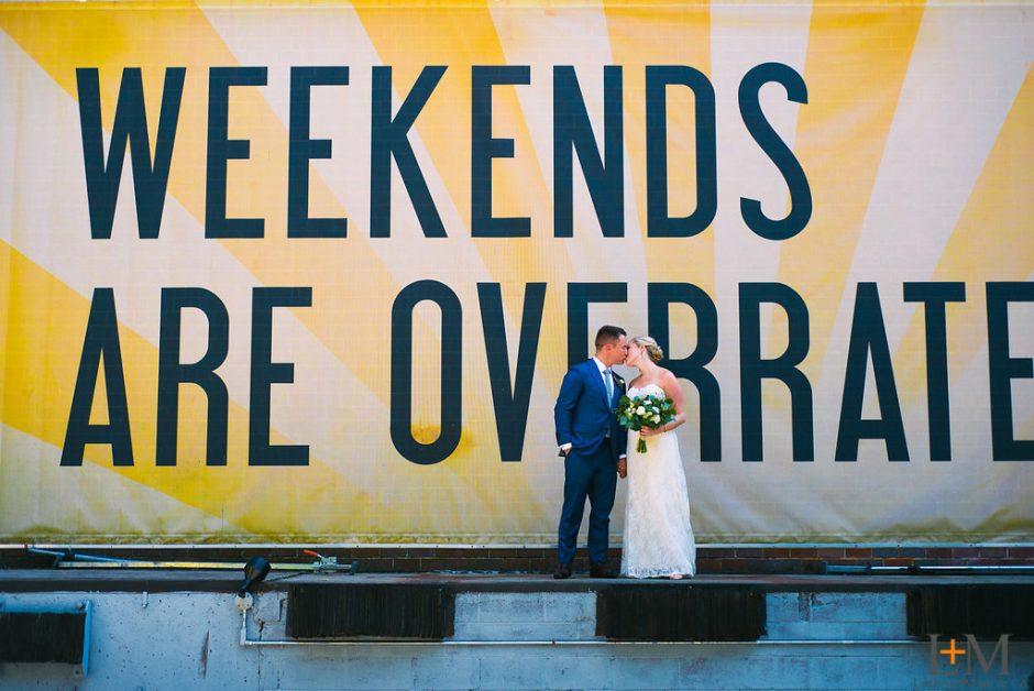 Atlanta Wedding Photographer, Monday Night Brewing, LeahAndMark & Co.