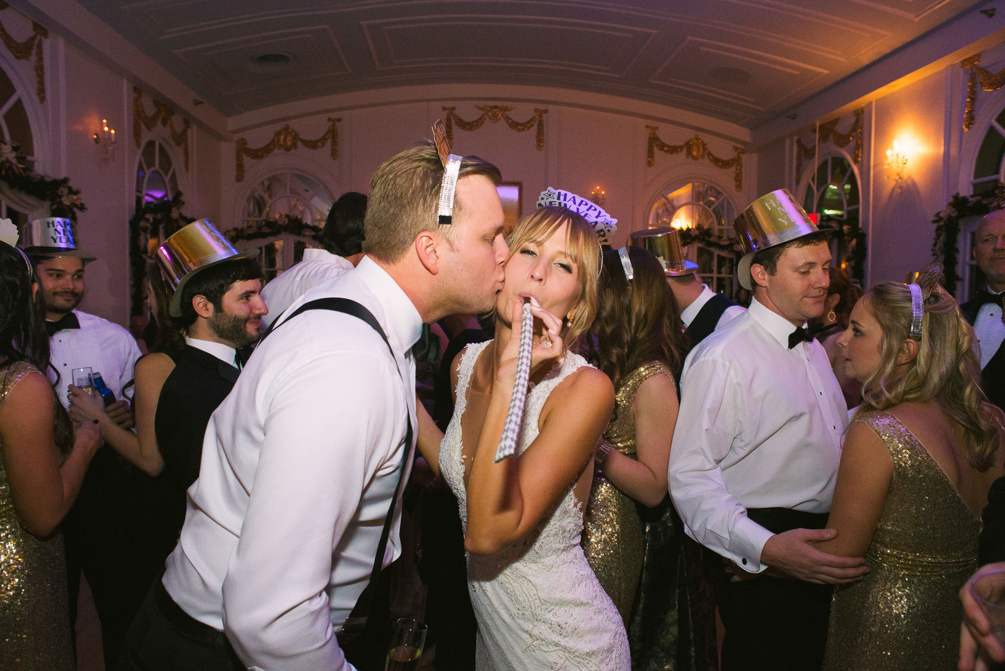 How to Plan a New Year's Eve Wedding | Wimbish House