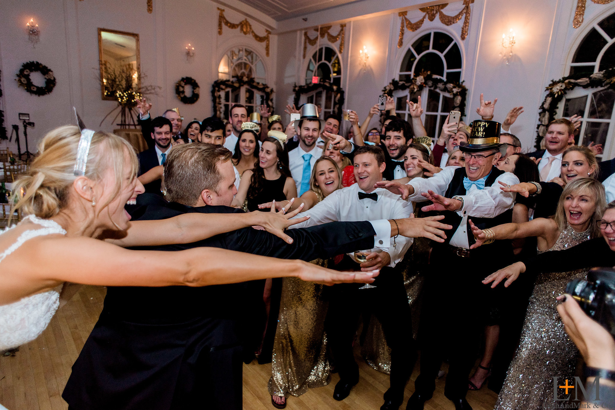 Wimbish House Wedding; New Year's Eve; NYE; Atlanta Wedding Photorapher LeahAndMark