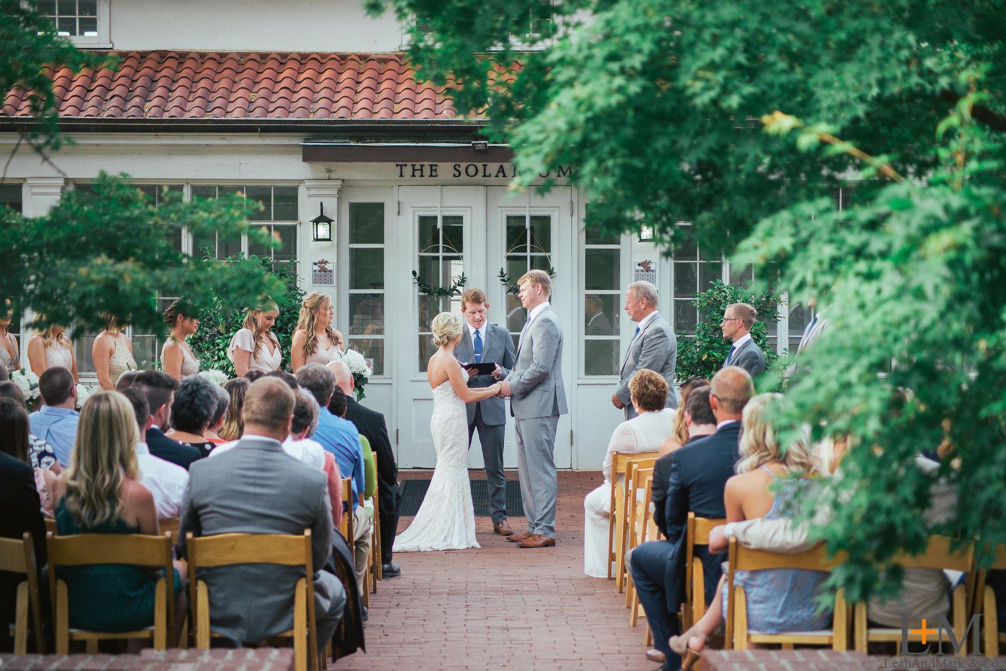The Solarium at Scottish Rite Wedding Venue Weddings