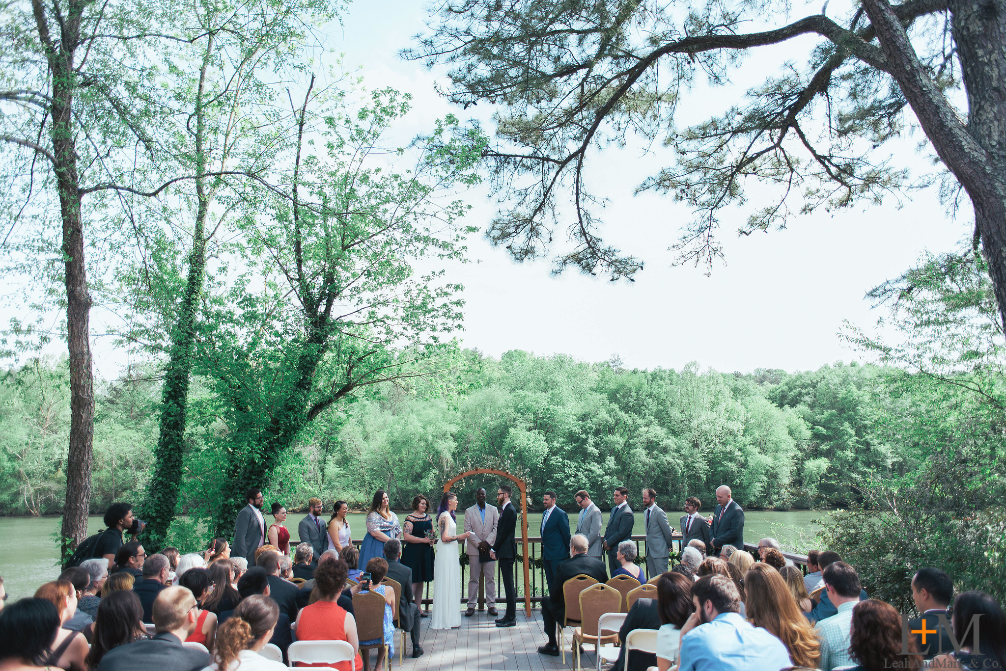 Roswell River Landing Wedding Photos | LeahAndMark & CO.