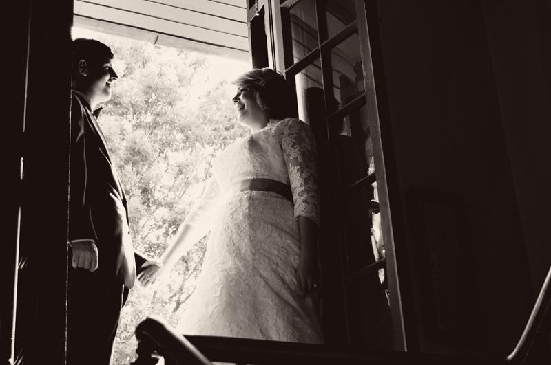 Atlanta Wedding Photographer | LeahAndMark.com | Vintage | Rustic | Modern | Houston Mill House, Decatur