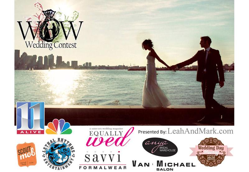 Atlanta Wedding Photographer | LeahAndMark.com | WOW Wedding Contest | 11Alive