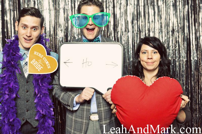 Wedding Day Hooray   Photobooth Rentals   LeahAndMark.com
