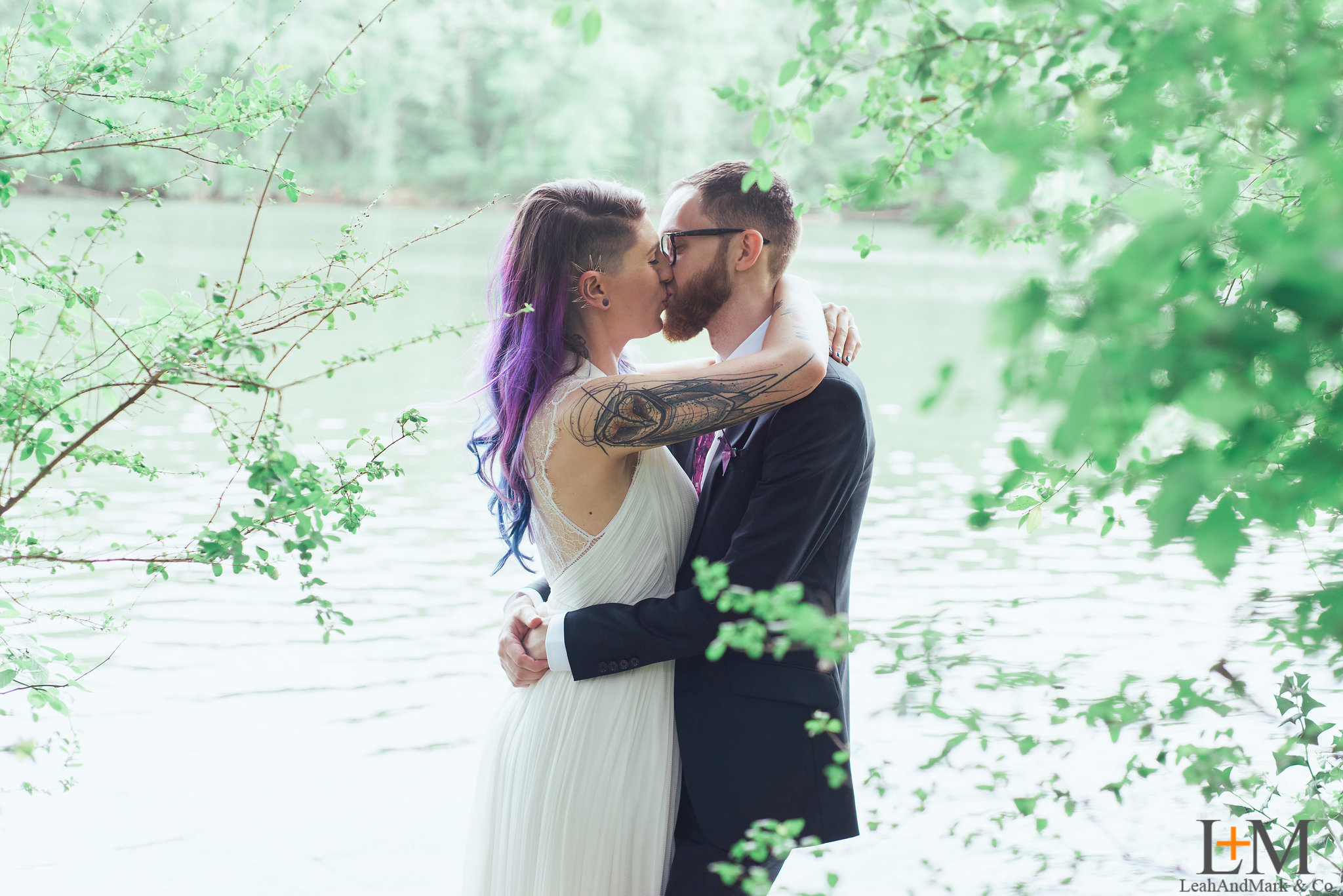 Atlanta Wedding Photographer | LeahAndMark & Co. | Roswell River Landing